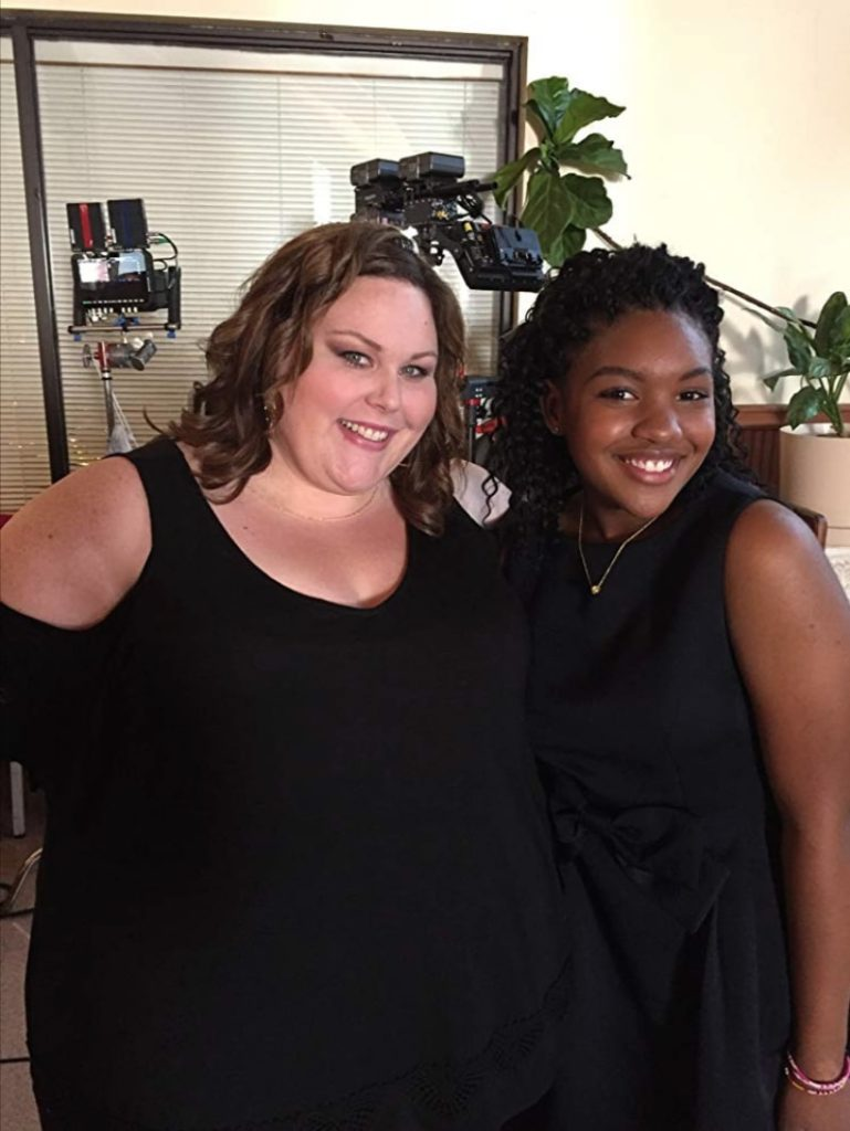 Taylor Mosby and Chrissy Metz