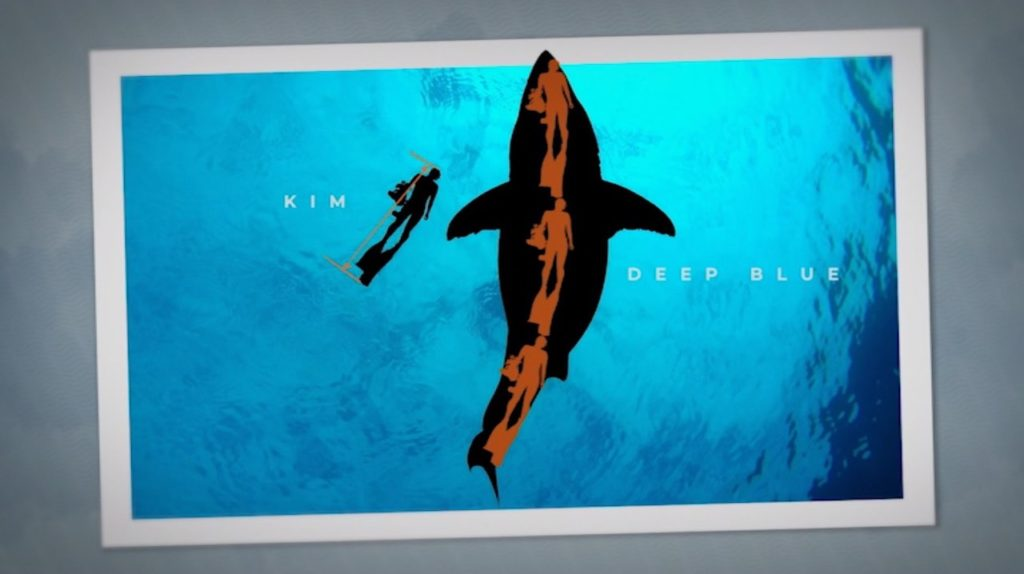 Deep Blue shark size