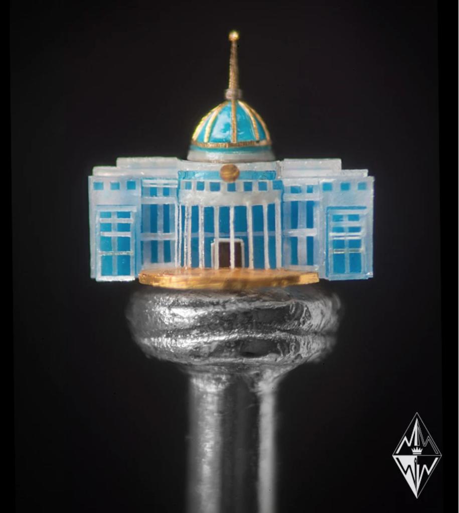Willard Wigan Ak Orda Palace