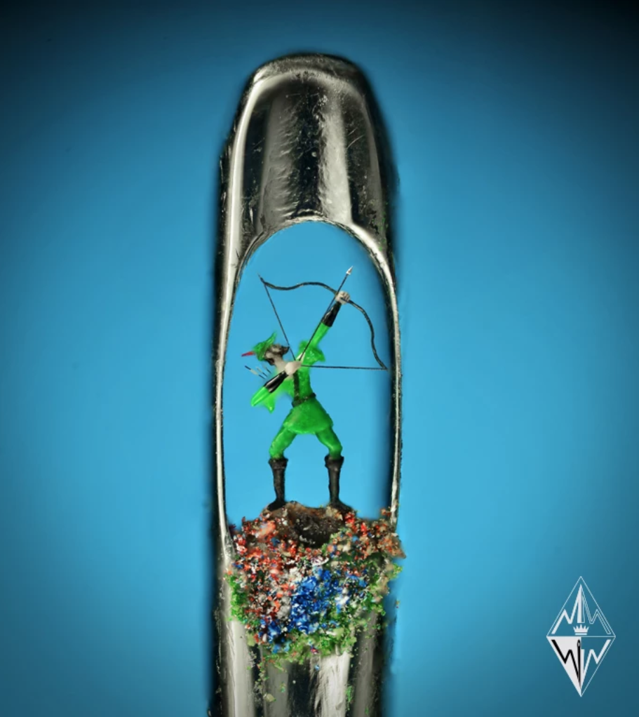 Willard Wigan Robin Hood