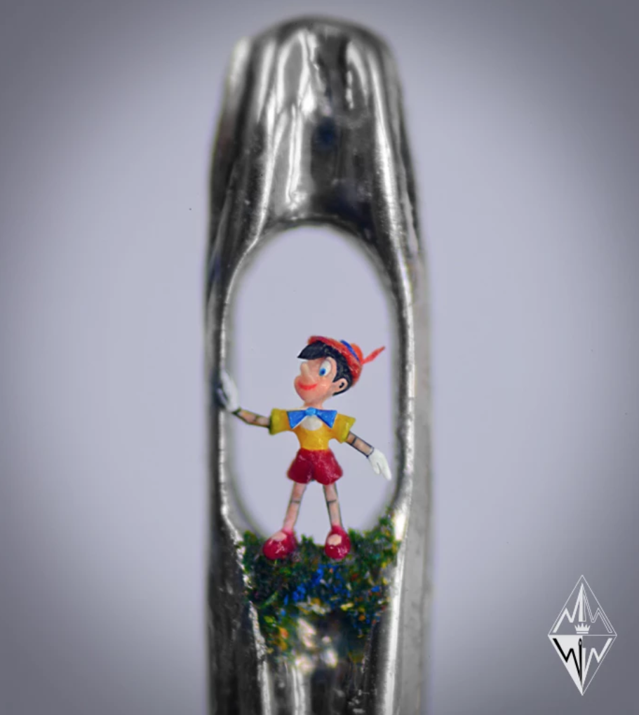 Willard Wigan Pinocchio