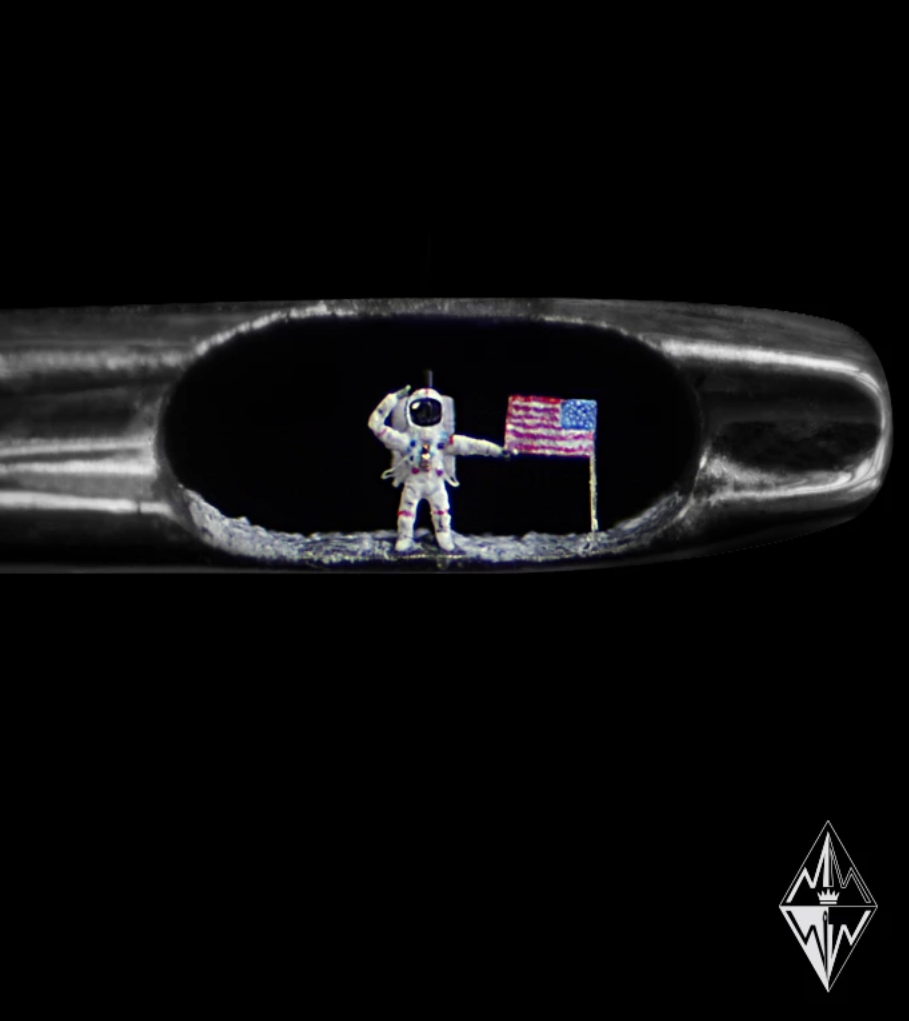 Willard Wigan Moon Landing